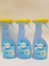 3 x Febreze Fabric multipurpose home fragrance Vanilla Blossom. 375ml