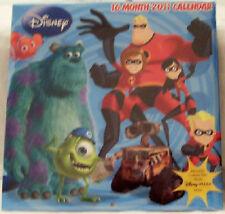 Disney Pixar Films 16 Month 2011 Calendar New