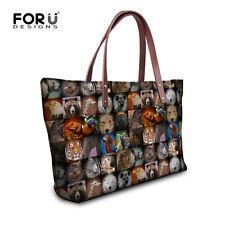 Tote Shopper Beach Bag Summer Womens Spanish Handbag Satchel Ladies Animal Print