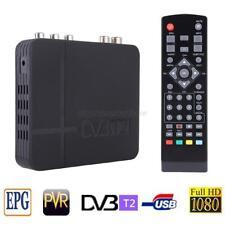 DVB T2 Receiver MPEG4 HD set 1080P Top Box TV Receiver W/RCA/HDMI PAL/NTSC Set