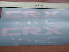 Civic CRX VTEC Sticker/Decal x2