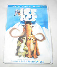 Ice Age DVD, 2002, 2-Disc Set, Includes Full Frame and Widescreen Versions
