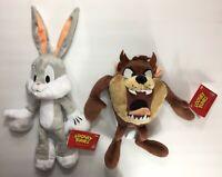 Set of 2: Funko Collectible Plush Bugs Bunny & Taz - Looney Tunes