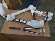 VeloVie Veloce 100 Carbon Axis Triathlon/TT Bicycle Frame and Fork Set 60CM XL