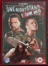 WWE One Night Stand 2008 (DVD) Extreme Rules - John Cena - Batista - CM Punk