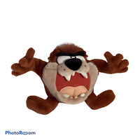 💕 LOONEY TUNES TAZMANIAN DEVIL TALKING GROWLING TAZ PLUSH TOY 1997 PLAY BY PLAY