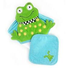 MacKenzie-Childs Baby Frog Hooded Towel Set