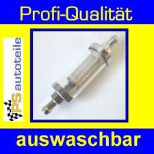 TOP ANGEBOT Benzinfilter-CHROM lang 8mm Opel Commodore A,Rekord C