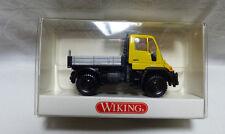 Wiking - H0  -1:87 - 372 01 33 Unimog U 400 Pritsche gelb OVP