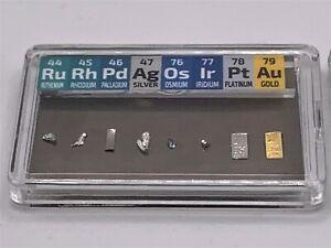 GM 1/4 Grain Rhodium Iridium Osmium  Palladium Gold Platinum + Titanium Backed