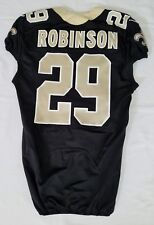 #29 Khiry Robinson Authentic Nike Game Issued Jersey from New Orleans Saints