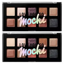 (Lot Of 2) NYX Love You So Mochi Makeup Shadow Palettes. Sleek And Chic LYSMSP02