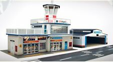 O gauge (7mm) 1:43 scale Model Railway Building AIRPORT Kit by The CityBuilder