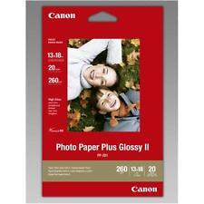 CARTA FOTOGRAFICA CANON PP-201 20 Fogli 13x18 260GR PHOTO PAPER PLUS GLOSSY II