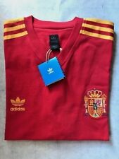 SPAIN Men's National Team FIFA World Cup 1974 Adidas Trefoil Jersey Replica