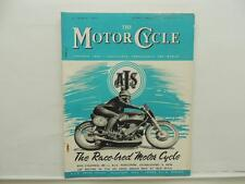 March 1954 THE MOTORCYCLE Magazine AJS Francis-Barnett Maico L8405