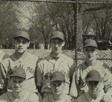 Warren Spahn High School Yearbook 1939 Pictured on the Baseball Team MLB HOF