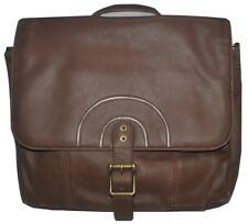 Lot of 4 Mailbag Original Leather Messenger Bag Laptop Briefcase Tablet Handbag