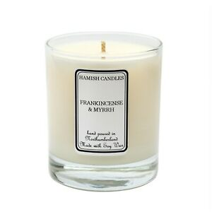 Frankincense & Myrrh - Personalised Soy Wax Candle - 20cl