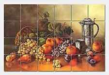 Pila Still Life Ceramic Mural Backsplash Kitchen 26x17 in