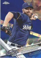CHRIS CAPUANO 2017 TOPPS CHROME SAPPHIRE EDITION #3 ONLY 250 MADE