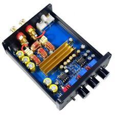 Class D Amplifier Mini Hifi Stereo Home Audio Amp 2 Channel 100Wx2 Black