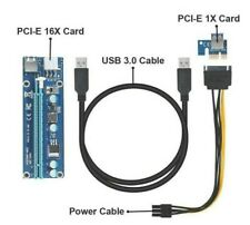PCIE Riser 006 PCI-E X1 X16 Express Card For GPU Mining USB3.0 Cable Extension