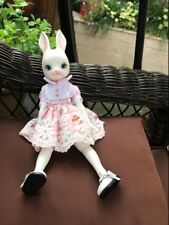 1/6 bjd doll Rabbit dolls free eyes with face make up resin toy