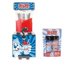 Slush Puppie Machine &  Blue Raspberry and Strawberry Syrups