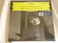 MARTHA ARGERICH Spielt Debut Chopin Brahms Liszt  Ravel 180 gram SEALED LP