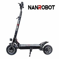 NANROBOT D4+ Pro High Speed Electric Scooter 2000W Lightweight Foldable US SHIP