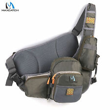 Maxcatch Fishing Sling Pack Bag Outdoor Chest Bag Fly Fishing Sling back pack