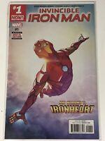 INVINCIBLE IRON MAN #1 MARVEL COMIC BOOK SUPER HERO AVENGERS IRONHEART