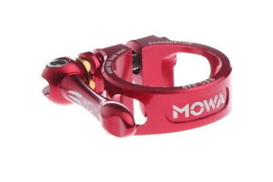 MOWA BSC Road CX Mountain Cycling Bike QR Seatpost Clamp in 31.8mm 34.9mm