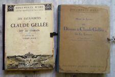 Dessins Claude Gellée Le Lorrain 1923 101 planches Albert Morancé