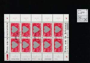 Nederland gestempeld 1997 used sheet V1709 - Verrassingszegels (4)