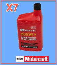 7 Qt. Auto. Trans. & Power Steer Fluid Genuine FORD MOTORCRAFT XT5QMC MERCON V