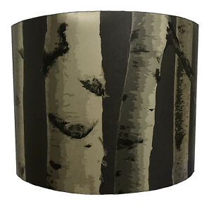 Lampshades Ideal To Match Silver Birch Tree Wallpaper Silver Birch Tree Curtains
