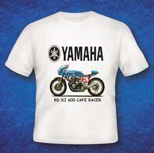Yamaha XJ600 Cafe racer, Quality Gildan Sublimated Vintage Bike T Shirt