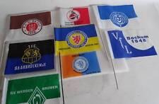 70er Jahre Konvolut Bundesliga Fähnchen St. Pauli Eintracht Braunschweig Bochum