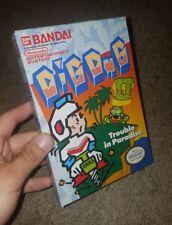 Dig Dug 2 Original Box Only NES Nintendo ***No Game