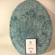 NEW WAMSUTTA DUET BATH RUG - UNIVERSAL LID COVER - 100% Polyester