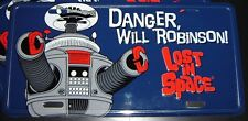Lost in Space B9 Robot License Plate Irwin Allen - Danger Will Robinson! NEW