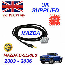 Mazda B Pickup AUX 3.5mm Input Audio cable High Quality Sound model year 03-06