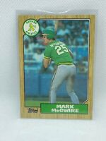 💥1987 TOPPS MARK MCGWIRE ROOKIE OAKLAND A's #366 GEM MINT💥HOT CARD
