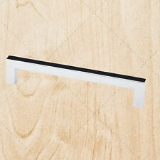 Kitchen Cabinet Hardware Square Bar Pulls ps25 Polished Chrome 128mm CC Handle