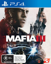 Mafia III 3 PS4 NEW SEALED DISPATCHING TODAY ALL ORDERS PLACED BY 2 PM