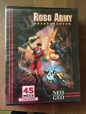 Robo Army Neo Geo AES CIB Complete In Box! Tested/Working! Great Condition!
