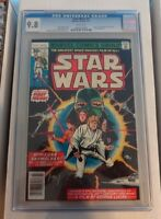 HIGHEST GRADED STAR WARS COMICS COMPLETE SET ALL GRADED 9.8 #1 -107 CGC & MORE