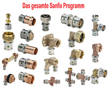 Viega Sanfix Fosta Plus Winkel Übergang Kupplung Wandscheibe T-Stück Fitting